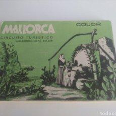 Postales: MALLORCA CIRCUITO TURISTICO 9 POSTALES.. Lote 224587923