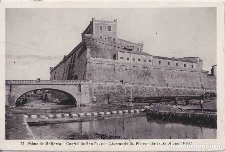 PALMA DE MALLORCA (ISLAS BALEARES) - CUARTEL DE SAN PEDRO (Postales - España - Baleares Moderna (desde 1.940))