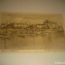 Postales: CIUTAT DE MALLORCA . LA LLONJA I LA SEU DESDE EL MAR. SIN CIRCULAR.. Lote 225101515
