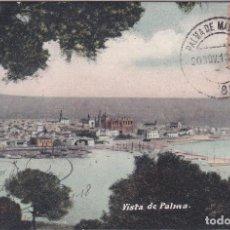 Postales: VISTA - PALMA DE MALLORCA (ISLAS BALEARES) - SALVADOR J. BONASTRO GANUZA. Lote 225433160
