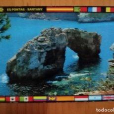 Cartes Postales: POSTAL - MALLORCA - SANTANY - ES PONTÁS. Lote 226097907