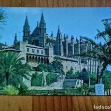 Cartes Postales: POSTAL - PALMA DE MALLORCA. CATEDRAL.. Lote 226287290