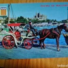 Cartes Postales: POSTAL - PALMA DE MALLORCA - VISTA, BAHIA Y CATEDRAL.. Lote 226395770