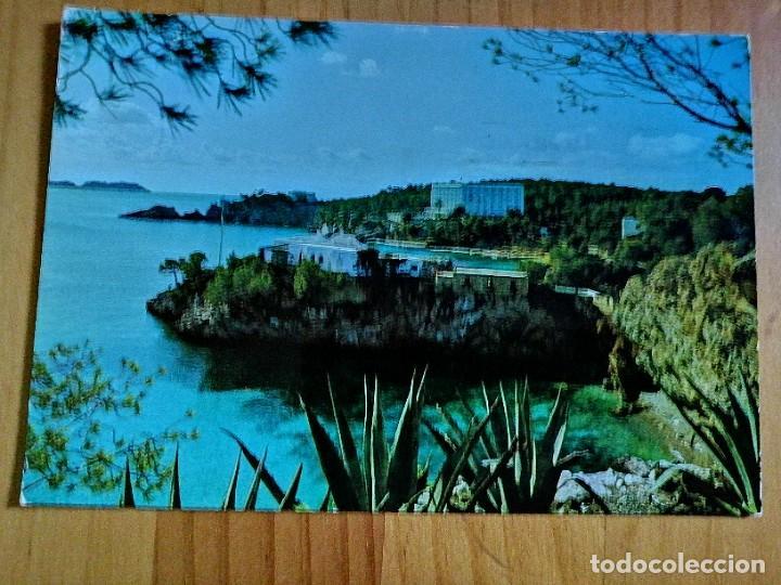 POSTAL - CALA FORNELLS (MALLORCA) - DETALLE. (Postales - España - Baleares Moderna (desde 1.940))