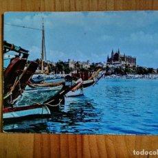 Cartes Postales: POSTAL - MALLORCA - PUERTO Y CATEDRAL.. Lote 226842745