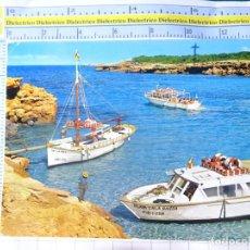 Cartes Postales: POSTAL DE IBIZA. AÑO 1972. SAN ANTONIO CALA CONTA EMBARCADERO. 382 FIGUERETAS. 2335. Lote 226928035