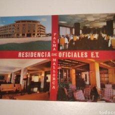 Postales: RESIDENCIA DE OFICIALES E. T PALMA DE MALLORCA. Lote 227772240