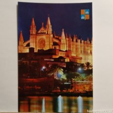 Postales: 15020 LA CATEDRAL, PALMA DE MALLORCA (NOCTURNA) ICARIA SERIE ESPECIAL CLÁSICA. Lote 228027275