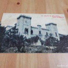 Postales: POSTAL CASTILLO DE BENDINAT (MALLORCA). Lote 229126915