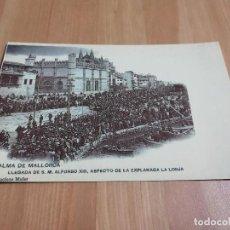 Postales: POSTAL DESEMBARCO DE ALFONSO XIII (PALMA DE MALLORCA). Lote 229129165