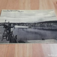 Postales: POSTAL SALIDA DEL BUQUE CORREO (PALMA DE MALLORCA). Lote 229129545
