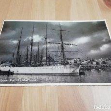 Postales: POSTAL VELERO SANT MUS (PALMA DE MALLORCA). Lote 229129855
