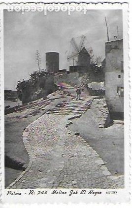 P-12022. POSTAL PALMA, MOLINO JACK EL NEGRO. R: 423. ROTGER. (Postales - España - Baleares Moderna (desde 1.940))