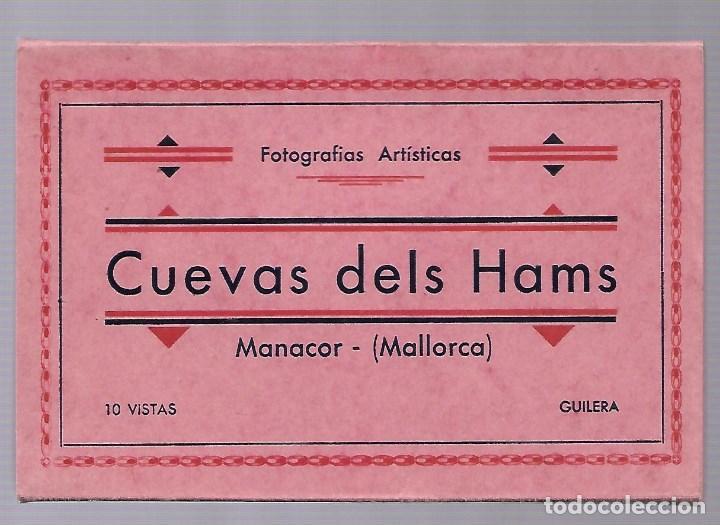 4412- MANACOR (CUEVAS DELS HAMS). -BLOC COMPLETO CON 10 POSTALES ANTIGUAS -FOTO- GILERA (Postales - España - Baleares Moderna (desde 1.940))