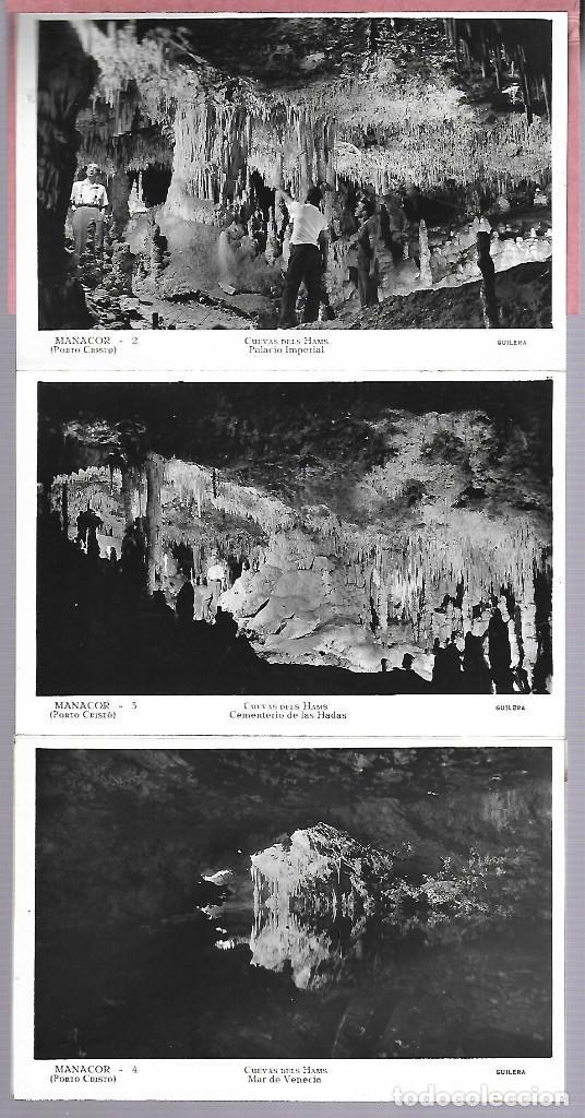 Postales: 4412- MANACOR (Cuevas dels Hams). -BLOC COMPLETO CON 10 POSTALES ANTIGUAS -FOTO- GILERA - Foto 2 - 229740060