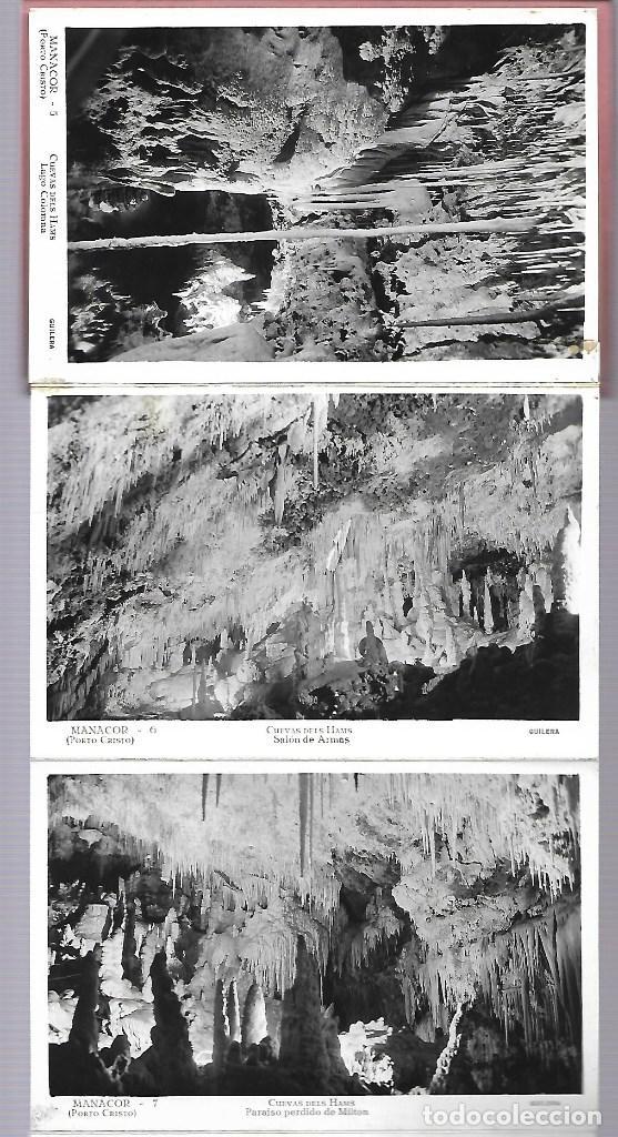 Postales: 4412- MANACOR (Cuevas dels Hams). -BLOC COMPLETO CON 10 POSTALES ANTIGUAS -FOTO- GILERA - Foto 3 - 229740060