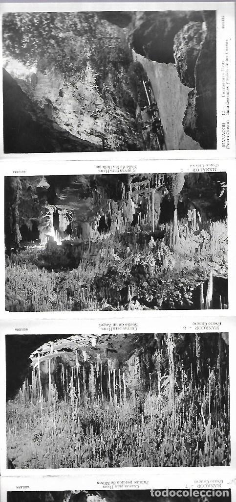 Postales: 4412- MANACOR (Cuevas dels Hams). -BLOC COMPLETO CON 10 POSTALES ANTIGUAS -FOTO- GILERA - Foto 4 - 229740060