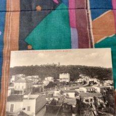 Postales: PALMA MALLORCA EL TERRENO Y CASTILLO DE BELLVER. Lote 230267935