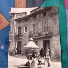 Postales: POLLENSA PLAZA LA ALMOINA MALLORCA. Lote 230268195