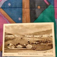 Postales: CASERIO DE LA GOLA PUERTO DE POLLENSA MALLORCA LLAUTS. Lote 230271670