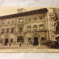 Postales: TARJETA POSTAL DE PALMA DE MALLORCA- CASA CONSISTORIAL. Lote 231939895