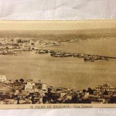 Postales: TARJETA POSTAL DE PALMA DE MALLORCA VISTA GENERAL. Lote 231940175