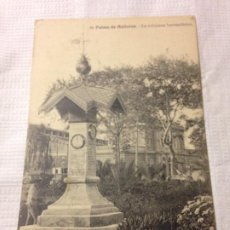 Postales: TARJETA POSTAL DE PALMA DE MALLORCA- LA COLUMNA BAROMÉTRICA. Lote 231941520