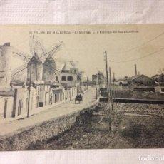 Postales: TARJETA POSTAL DE PALMA DE MALLORCA- EL MOLINAR Y LA FABRICA DE LUZ ELÉCTRICA. Lote 231942180