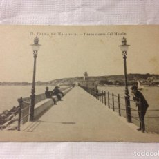 Postales: TARJETA POSTAL DE PALMA DE MALLORCA- PASEO NUEVO DEL MUELLE. Lote 231942260