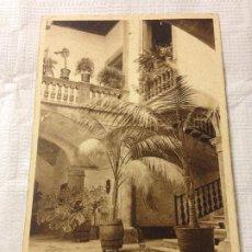 Postales: TARJETA POSTAL DE PALMA DE MALLORCA- PATIO BARROCO. Lote 231943810
