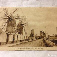 Postales: TARJETA POSTAL DE PALMA DE MALLORCA- EL MOLINAR. Lote 231943870