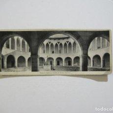 Postales: PALMA DE MALLORCA-CASTILLO DE BELLVER-INTERIOR-FOTOGRAFIA PANORAMICA ANTIGUA-VER FOTOS-(K-1492). Lote 232510695