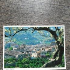 Postales: POSTAL PALMA DE MALLORCA FORNALUTX 1990. Lote 233667975