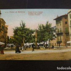 Postales: PALMA DE MALLORCA FUENTE DE LAS TORTUGAS. Lote 234319550