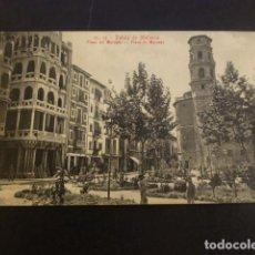 Postales: PALMA DE MALLORCA PLAZA DEL MERCADO. Lote 234319710