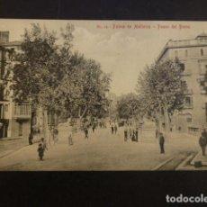 Postales: PALMA DE MALLORCA PASEO DEL BORNE. Lote 234321655
