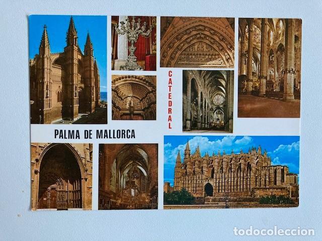 POSTAL PALMA DE MALLORCA CATEDRAL Nº PM 80 NUEVA (Postales - España - Baleares Moderna (desde 1.940))