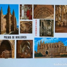 Postales: POSTAL PALMA DE MALLORCA CATEDRAL Nº PM 80 NUEVA. Lote 234901805