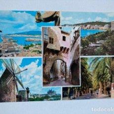 Postales: POSTAL PALMA MALLORCA Nº 506 CIRCULADA 1966. Lote 234904685