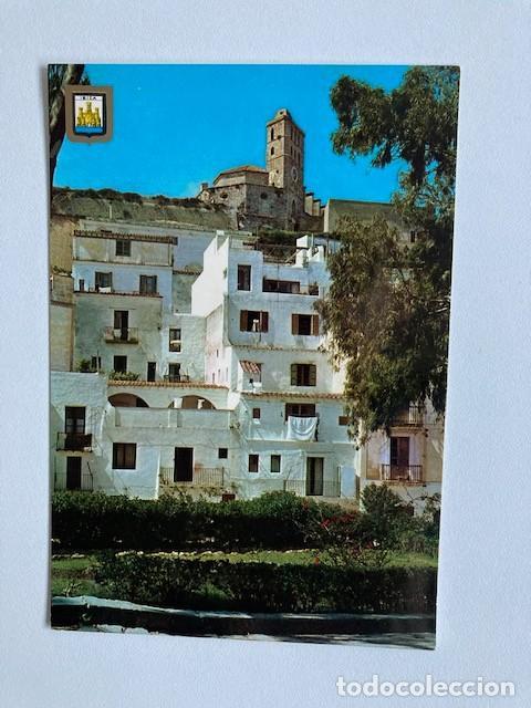"""POSTAL IBIZA ISLA BLANCA """"DALT VILA"""" CIRCULADA (Postales - España - Baleares Moderna (desde 1.940))"""