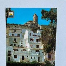 "Postales: POSTAL IBIZA ISLA BLANCA ""DALT VILA"" CIRCULADA. Lote 234906065"