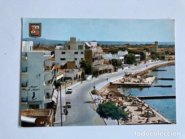 POSTAL MALLORCA CALA GAMBA CIRCULADA (Postales - España - Baleares Moderna (desde 1.940))