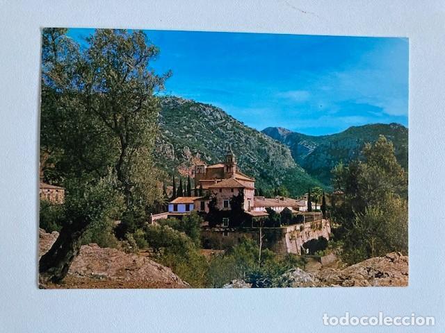 POSTAL VALLDEMOSA MALLORCA LA CARTUJA CIRCULADA 1974 (Postales - España - Baleares Moderna (desde 1.940))