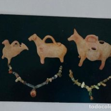 Postales: POSTAL IBIZA MUSEO ARQUEOLÓGICO CIRCULADA. Lote 234910355