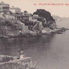 Postales: PALMA DE MALLORCA, VISTA CORP MARI. ED. FOTOTIPIA THOMAS Nº 60. SIN CIRCULAR. Lote 235150410