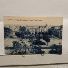 Postales: 5 PALMA DE MALLORCA (BALEARES) PLAZA DE EUSEBIO ESTADA, FOTOTIPIA THOMAS, BARCELONA. Lote 235321455