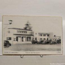 Postales: PALMA DE MALLOCA ESTACIÓN DEL AEROPUERTO, C. MAURI BARCELONA. Lote 235321905