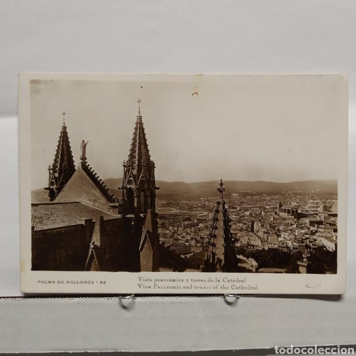 PALMA DE MALLORCA 32 VISTA PANORÁMICA Y TORRES DE LA CATEDRAL, GUILERA (Postales - España - Baleares Moderna (desde 1.940))