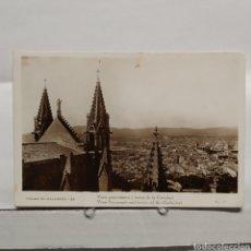 Postales: PALMA DE MALLORCA 32 VISTA PANORÁMICA Y TORRES DE LA CATEDRAL, GUILERA. Lote 235324305