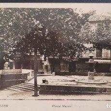 Postais: LOTE 160121-POSTAL FOTOGRAFICA PALMA DE MALLORCA SOLLER PLAZA DE MAYOR. Lote 235337765